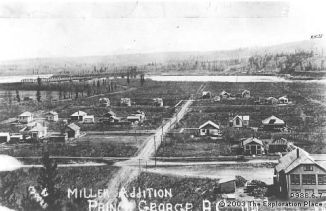 Photo of the Millar Addition in 1921.