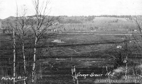 Photo of Prince George townsite, October 1913
