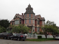 The George Starrett House (1889) might be the most ostentatious home in town.