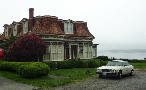 The Bartlett House (1883), with its mansard roof and sea views, is my favourite of the tour.