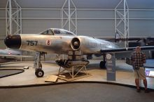 Photo of Avro CF-100 aircraft.