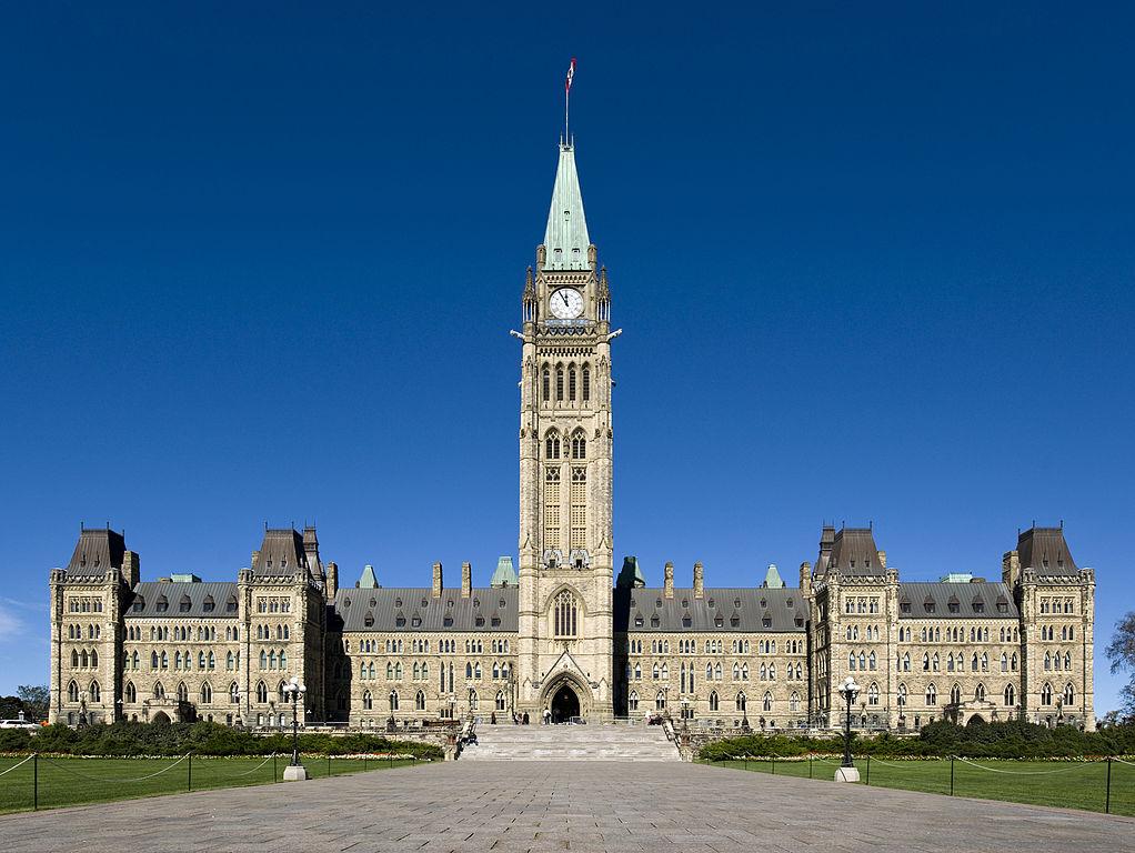 Centre Block of Parliament, Ottawa, Canada