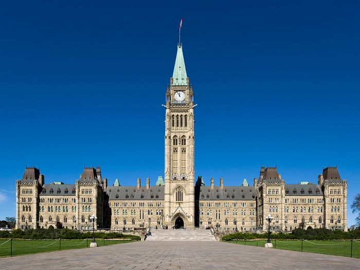 Photo of Centre Block of Parliament, Ottawa, Canada