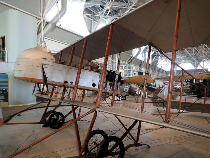 Photo of Maurice Farman S.11 Shorthorn aircraft.