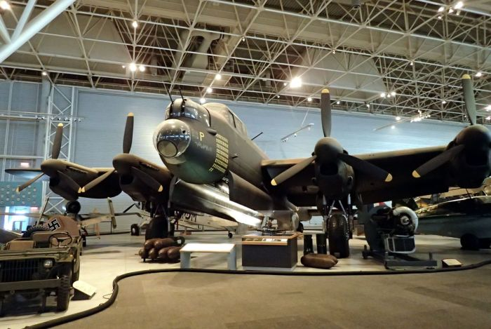 Photo of Canadian-made Avro Lancaster Mark X.